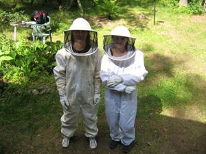 Mehiläis suojapuku